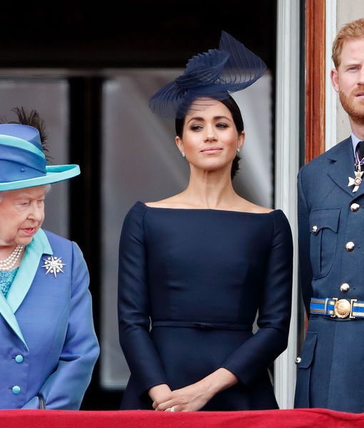 The Queen Breaks Her Silence on Prince Harry & Meghan Markle's Royal…