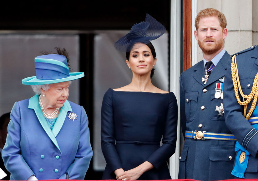 The Queen Breaks Her Silence on Prince Harry & Meghan Markle's Royal Future