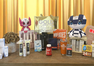 Win It! A Gold Meets Golden Gift Bag