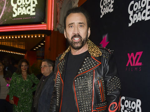 Nicolas Cage Gets Real About Divorce and 'Marriage Story,' Plus: His Movie 'Color Out of Space'
