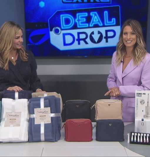 'Extra's' Deal Drop: Towel Sets, Crossbody Bags, and Sonic Toothbrushes