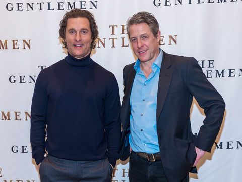 Playing Cupid: Matthew McConaughey Jokes About Plans to Set Up Mom with Hugh Grant's Dad