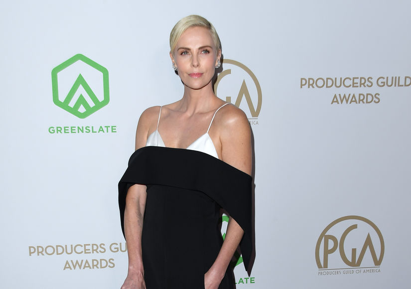 Charlize Theron's Kids on Her Oscar Nom: 'Can You Try a Little Harder?'