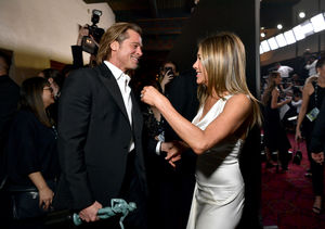 Friendly Exes! Brad Pitt & Jennifer Aniston Reunite at the SAG Awards 2020