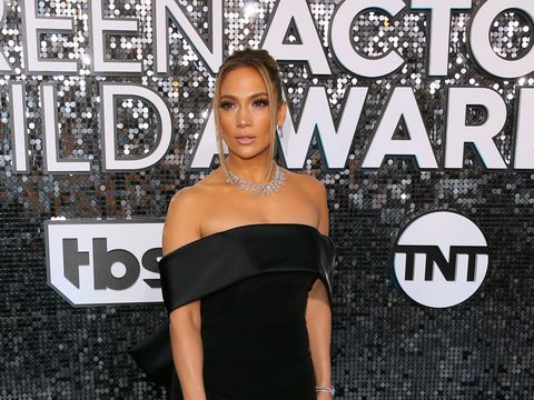 Jennifer Lopez Dripping in $9M Worth of Diamonds at the SAG Awards