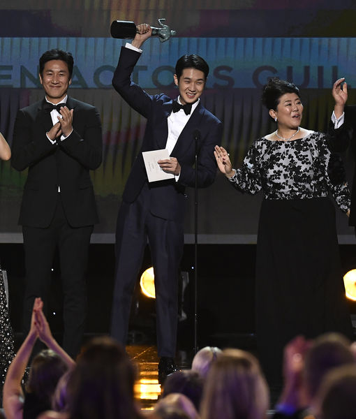 'Parasite' Cast Shows Major Love for Brad Pitt & Quentin Tarantino After…