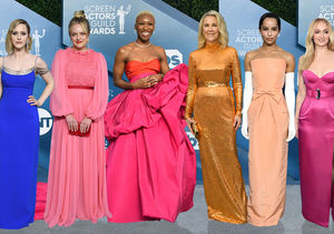 The Hottest Fashion Moments from the 2020 SAG Awards, Plus: Who Was…