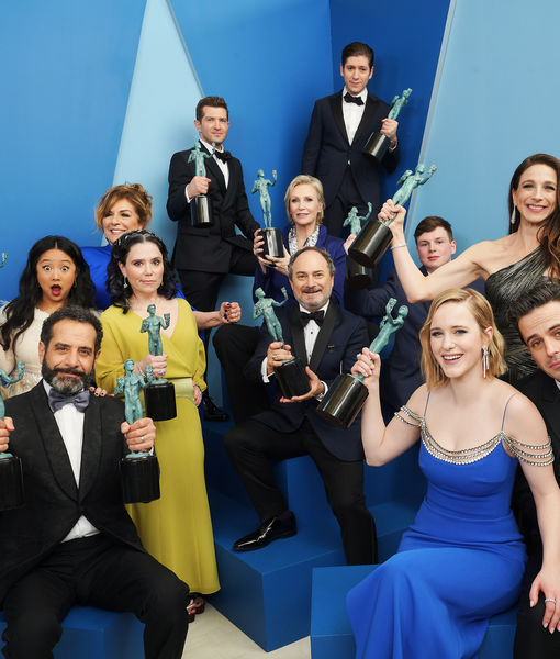 Behind-the-Scenes Video from the SAG Awards Official Winners Gallery Photo Shoot