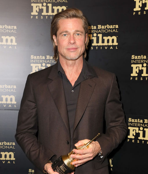 Brad Pitt's Mystery Concert Companion IDed as Actress