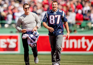 Rob Gronkowski Talks Tom Brady's 'Options' as Free Agent