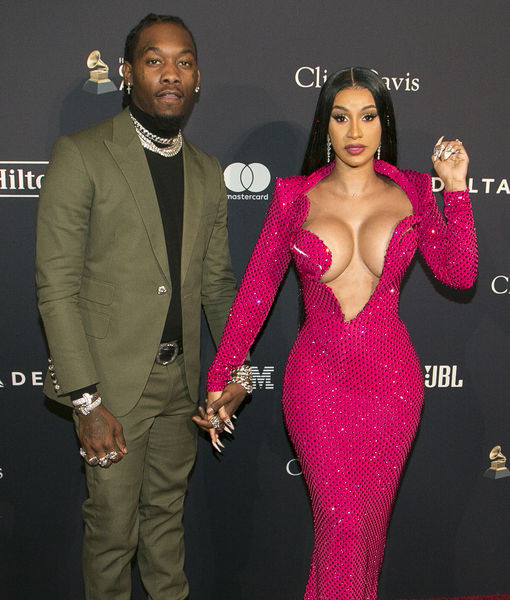Not a Wardrobe Malfunction! Cardi B Wows at Pre-Grammys Party