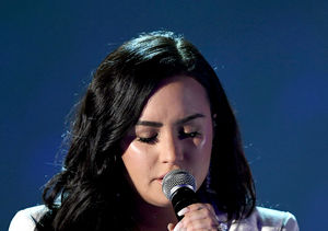 Emotional Demi Lovato Stops and Restarts Her Grammy Performance of 'Anyone'