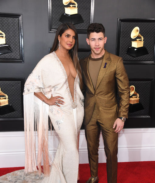 Priyanka Chopra & Nick Jonas Remember Kobe Bryant on Grammys 2020 Red Carpet