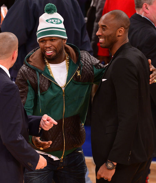50 Cent Says He Will Stop Feuding in Honor of Kobe Bryant