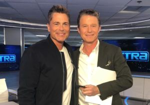 @roblowe stopped by to talk about his @cobaltbyroblowe skincare!