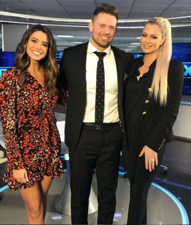 Lots of laughs catching up with @mikethemiz and @marysemizanin!