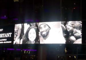 How Fans Are Honoring Kobe Bryant at Staples Center