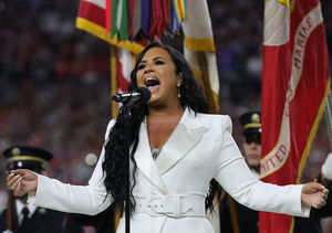 'Anyone' Catch Demi Lovato's Powerful National Anthem?