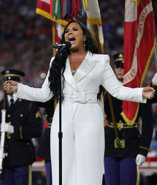 'Anyone' Catch Demi Lovato's Powerful Pre-Super Bowl National Anthem?