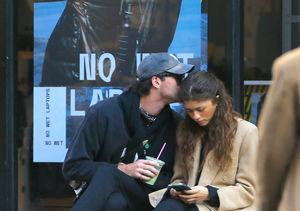 Friends? Jacob Elordi Kisses Zendaya in New York City