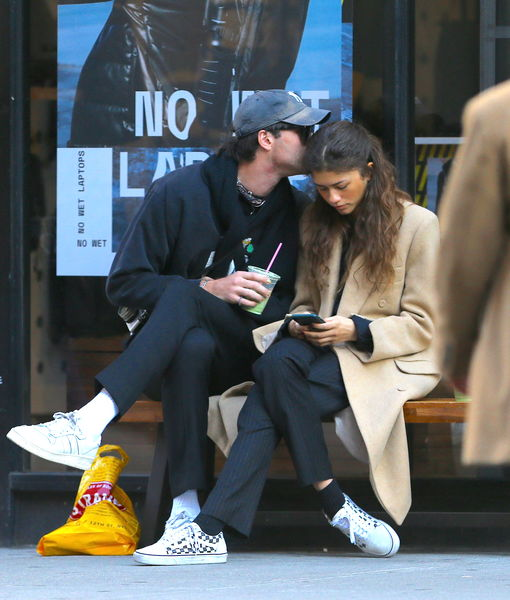 Friends? Jacob Elordi Kisses Zendaya in New York City