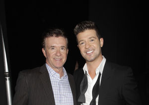 Watch Robin Thicke's Spot-On Impersonation of Late Dad Alan Thicke