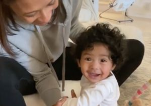 Vanessa Bryant Shares Video of 7-Month-Old Capri Kobe