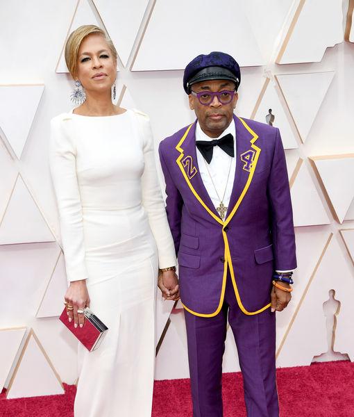 Spike Lee Honors Kobe Bryant on Oscars 2020 Red Carpet