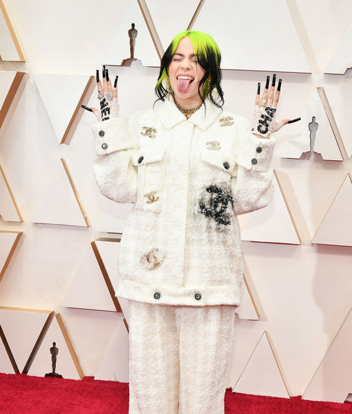 Unique Look! Billie Eilish's Fashion Moment at the Oscars