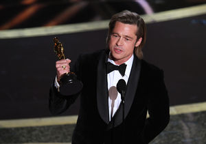Brad Pitt Talks Politics, Kids, and More in Oscars Acceptance Speech