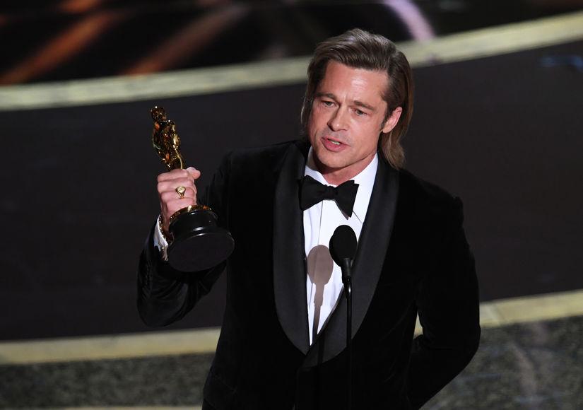 Brad Pitt Talks Politics, Kids, and More in Oscars Acceptance Speech