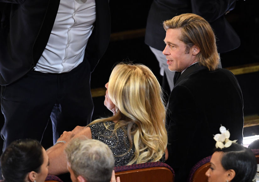 Who Was Brad Pitt's Plus One at the Oscars 2020?