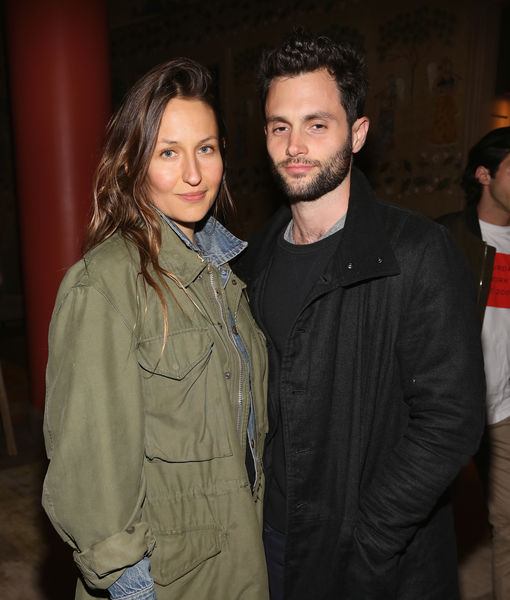 Domino Kirke & Penn Badgley Welcome First Child – See the Pic