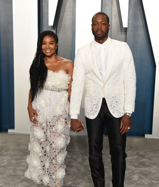 Gabrielle Union & Dwyane Wade Talk Kobe Bryant at Vanity Fair Oscar Party
