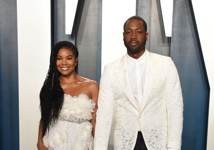 Gabrielle Union & Dwyane Wade Talk Kobe Bryant at Vanity Fair Oscar Party