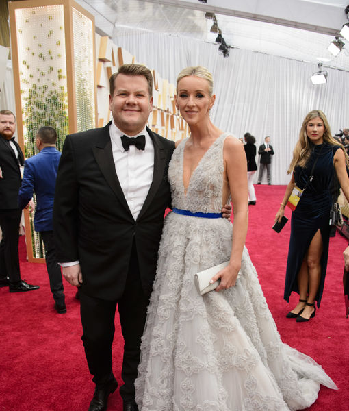 James Corden Jokes About His Marriage