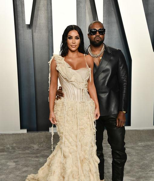 Kim Kardashian Remembers Kobe Bryant at Vanity Fair Oscar Party