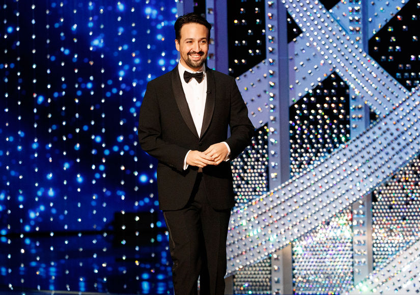 Lin-Manuel Miranda Talks Huge 'Hamilton' Disney Deal