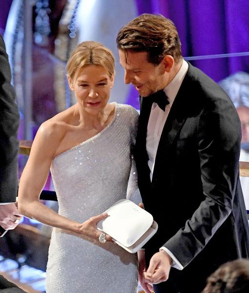 Friendly Exes! Renée Zellweger & Bradley Cooper Reunite at Oscars