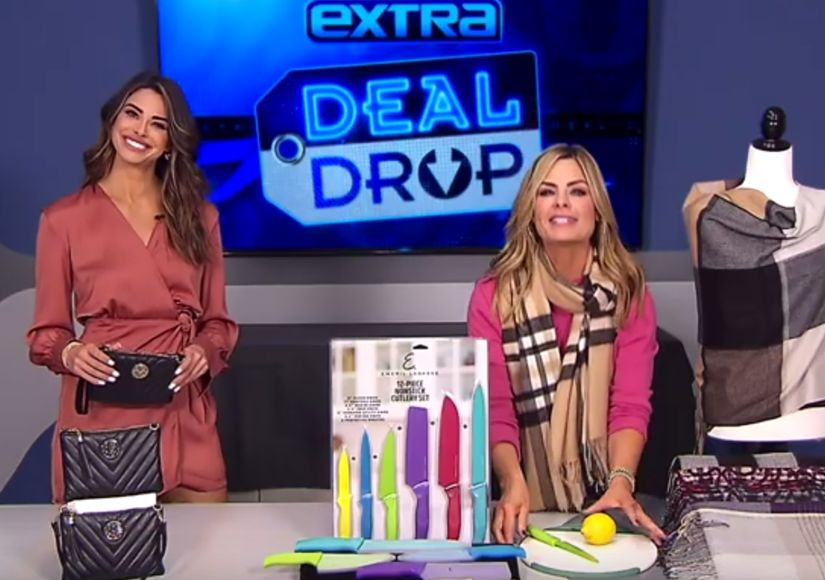 'Extra's' $25-or-Less Deal Drop: Charging Handbags, Knife Sets, and Blanket…