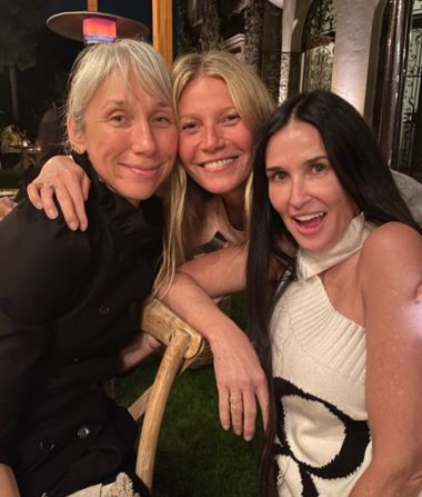 See the Famous Faces at Gwyneth Paltrow's No-Makeup Party