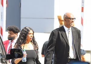 Kobe Bryant's Parents Joe & Pam Bryant Make Quiet Appearance at His…
