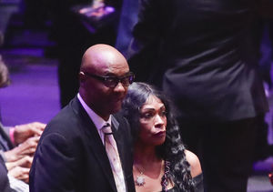 Kobe Bryant's Parents Joe & Pam Bryant Make Quiet Appearance at…