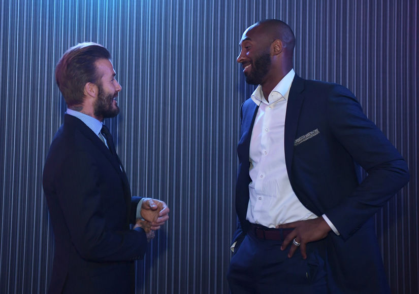 David Beckham Tells Sweet Story About Attending Kobe Bryant's Lakers Games