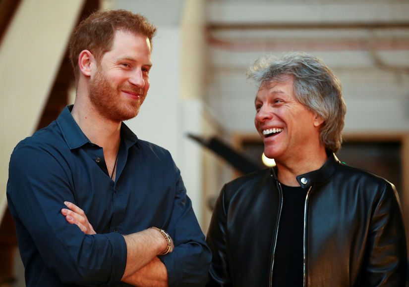 Rockin' Out! Prince Harry's Jam Session with Bon Jovi at Abbey Road