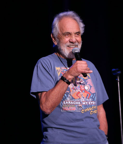 'Extra' Interviews Tommy Chong at Desert Oasis Agua Caliente Resort Casino Spa…
