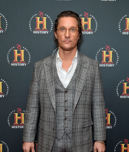 Matthew McConaughey Reacts to Brad Pitt & Jennifer Aniston's 'Sexual…