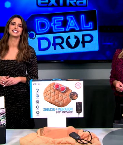 'Extra's' Deal Drop: Charging Wristlets, Body Massagers, and Crystal Watches