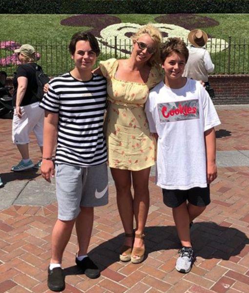 Britney Spears' Son Jayden, 13, Sounds-Off on Instagram, Kevin Federline…