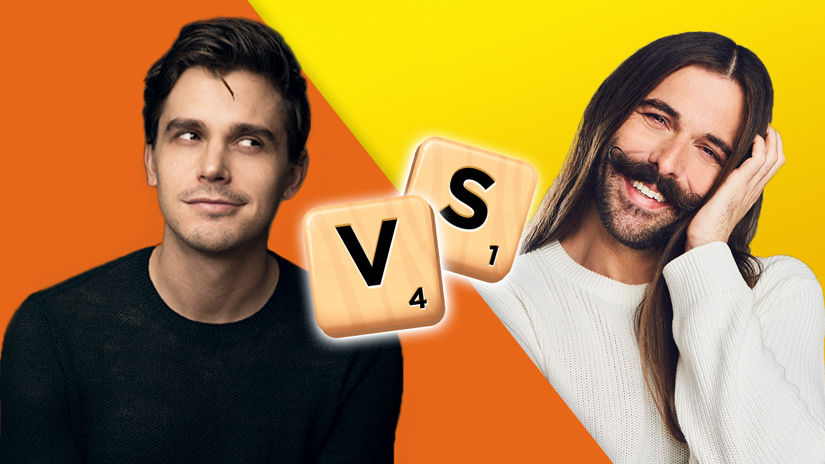 Antoni Porowski Wins Scrabble® GO for Charity!